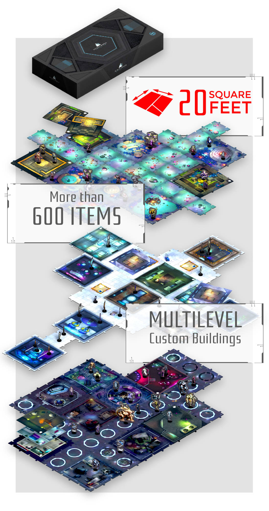 Blue Elemental Pack Custom jetons