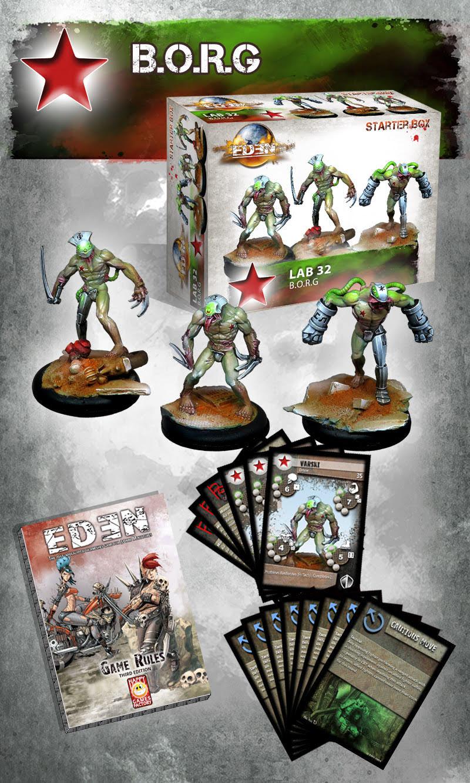 Eden nouvelle faction !! et renfort Saagarien !! B.o.r.g