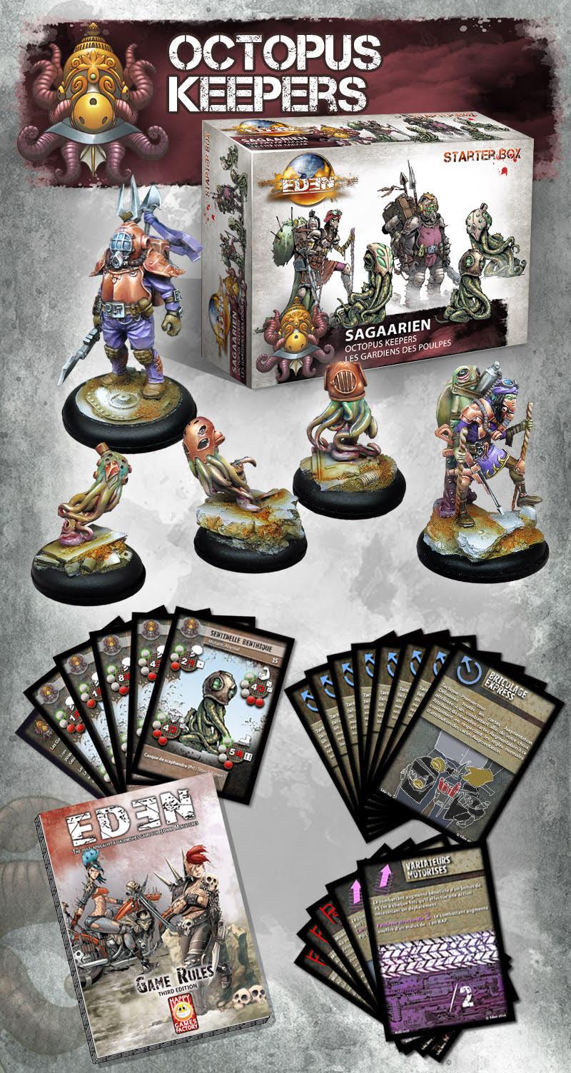 Eden nouvelle faction !! et renfort Saagarien !! Octopus