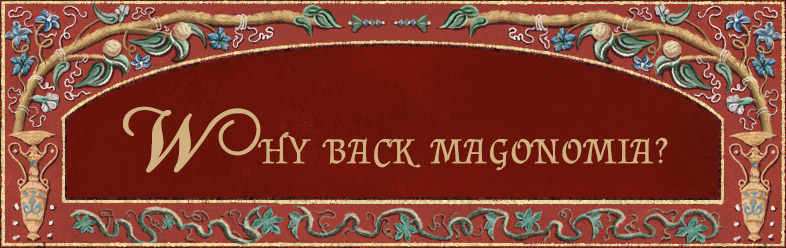 Why Back Magonomia